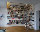 Integrated Bookshelves