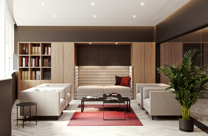 Modern Office Design for Administration of East Ca