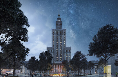 Central Square in Warsaw