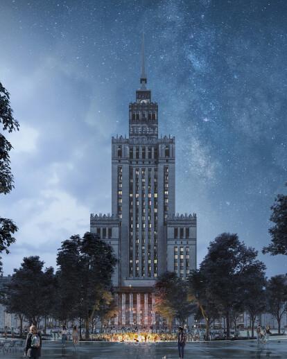 Central Square in Warsaw