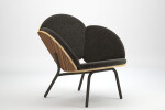 FreeBloom lounge chair - zebrano