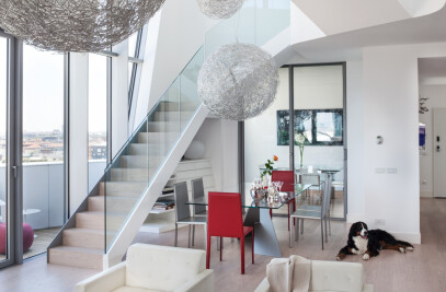 Residenze Hadid's penthouse flats
