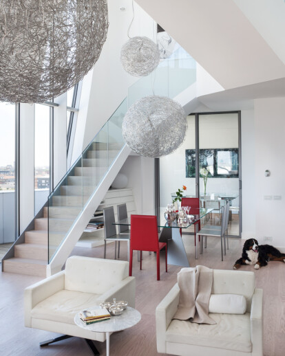 Residenze Hadid's penthouse flats