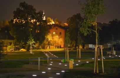 Power saving LED solution for park lighting
