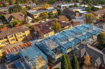 Light Gauge Steel Wall, Joist & Roof Truss Framing