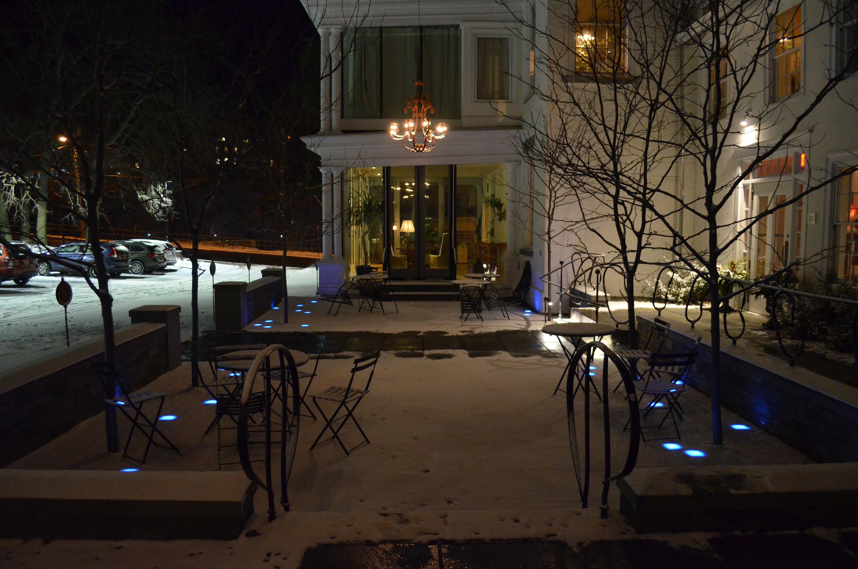 RGB paving lights application