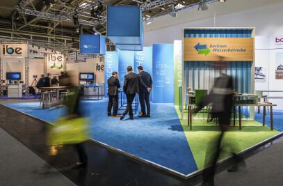 Berliner Wasserbetriebe at IFAT 2018