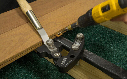 Hardwood Wrench™ on single joist installation