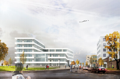 Verwaltungsgebaude IKK in Saarbrücken