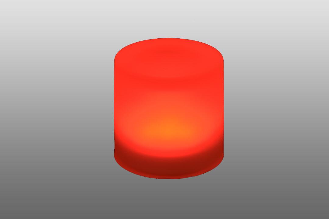 In-ground LED light, Spot Red