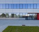 Long facade view