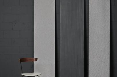 Tapisserie concrete panels
