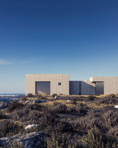 Two Holiday Houses on the edge of Caldera
