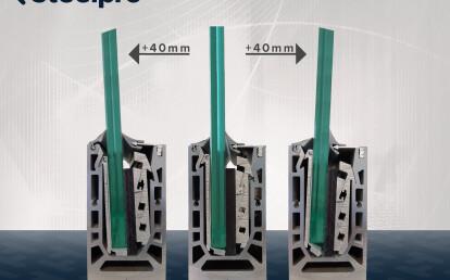 Adjustable base profile system