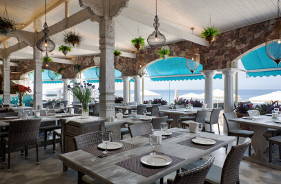 The maritime restaurant  Dionis