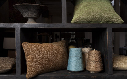 Brady cushions for photoshoot