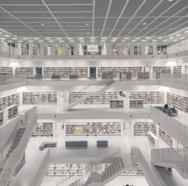 The new Municipal Library in Stuttgart