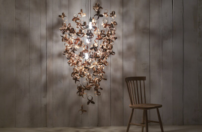 Giant Flock Chandelier