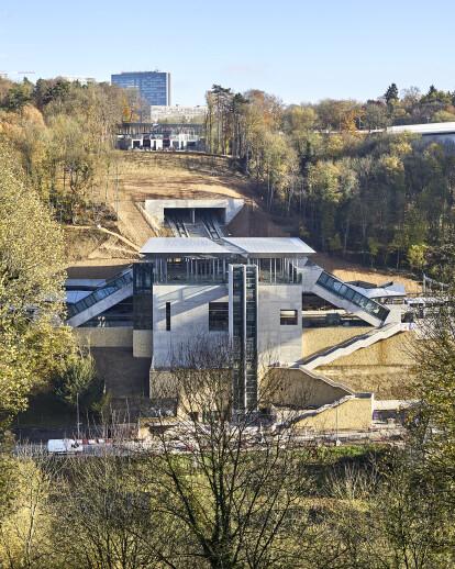 Pfaffenthal-Kirchberg Railway Station