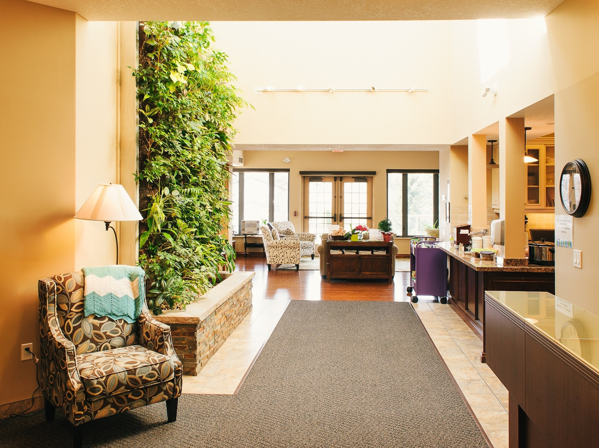 Healthcare Living Wall Biofilters