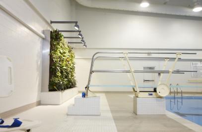 Community Center Living Wall Biofilter