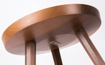 Marlon Side Table in Walnut