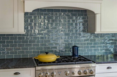 Handmade Subway tiles 150x75 in Ocean Blue  also  available   in 300x75 size .