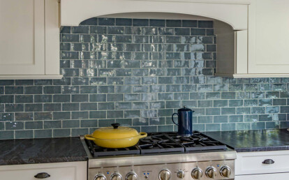 Handmade Subway Tiles 150x75 In Ocean Blue Also Available