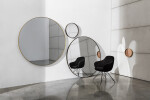 Visual rectangular and Bugatti armchair