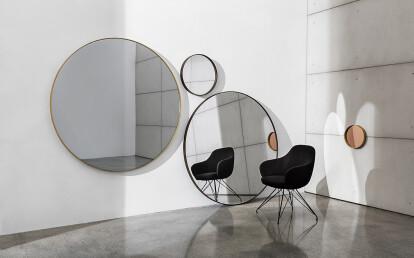 Visual rectangular and Bugatti armchair
