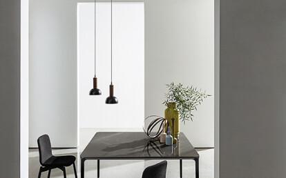 Slim square with ceramic top