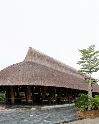 Bamboo Long House Restaurant | BambuBuild | Archello