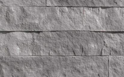 "Coronado Stone Products - 6"" Split Limestone / Summit Grey"