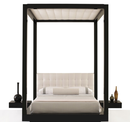 tufted plaza bed