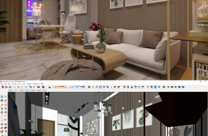 Unicorn render v3 as sketchup plugin