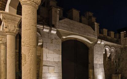Corte Martinelli, Andria, Italy. Project: arch. Francesco Mancini