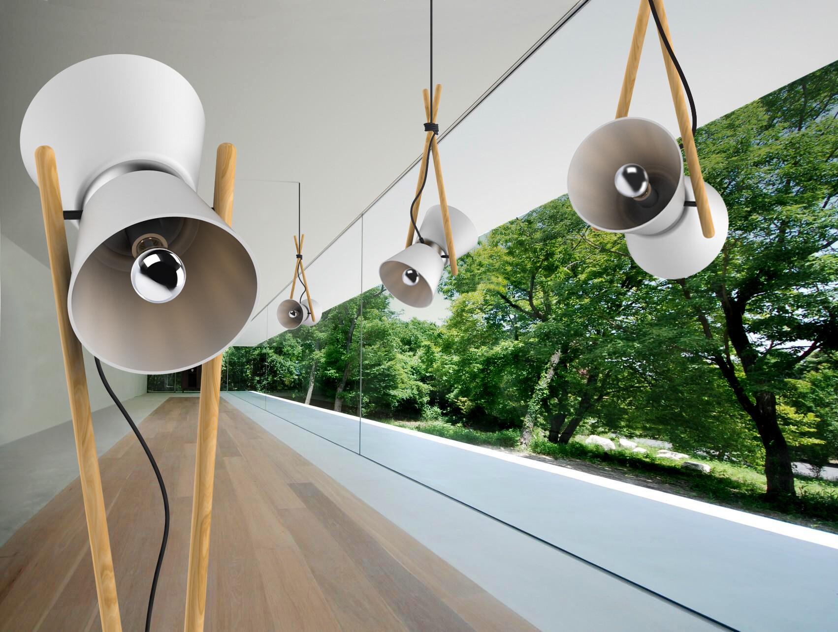 Floor and pendant lights