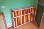 Covers for radiators in hospitals