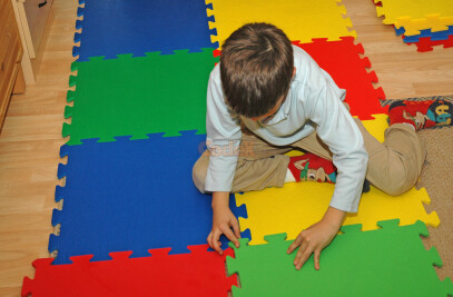 Interlocking mats for kids