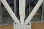 Pillar pads for sport facilities