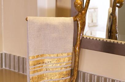Free Standing Towel Holder & Tissue Holder