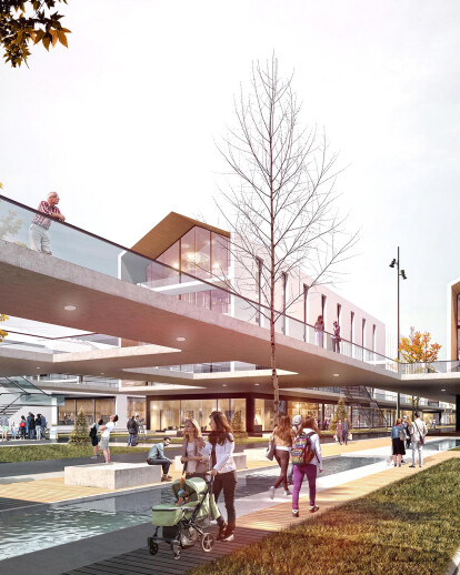 İstanbul / Ataşehir -  Urban Design Project