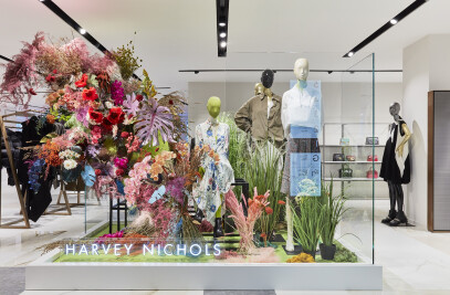 Harvey Nichols' womenswear floor