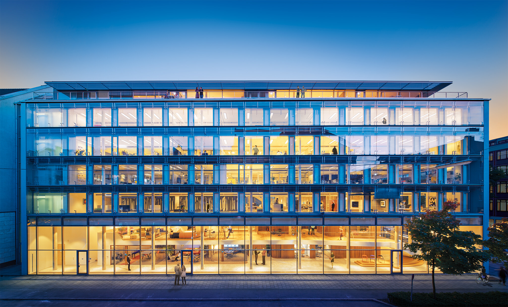 Steelcase Learning and Innovation Center in Munich
