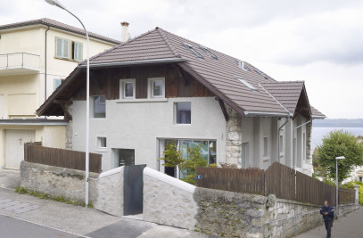 House renovation in Neuchâtel