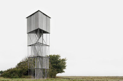 Observation tower at the Tipperne nature complex
