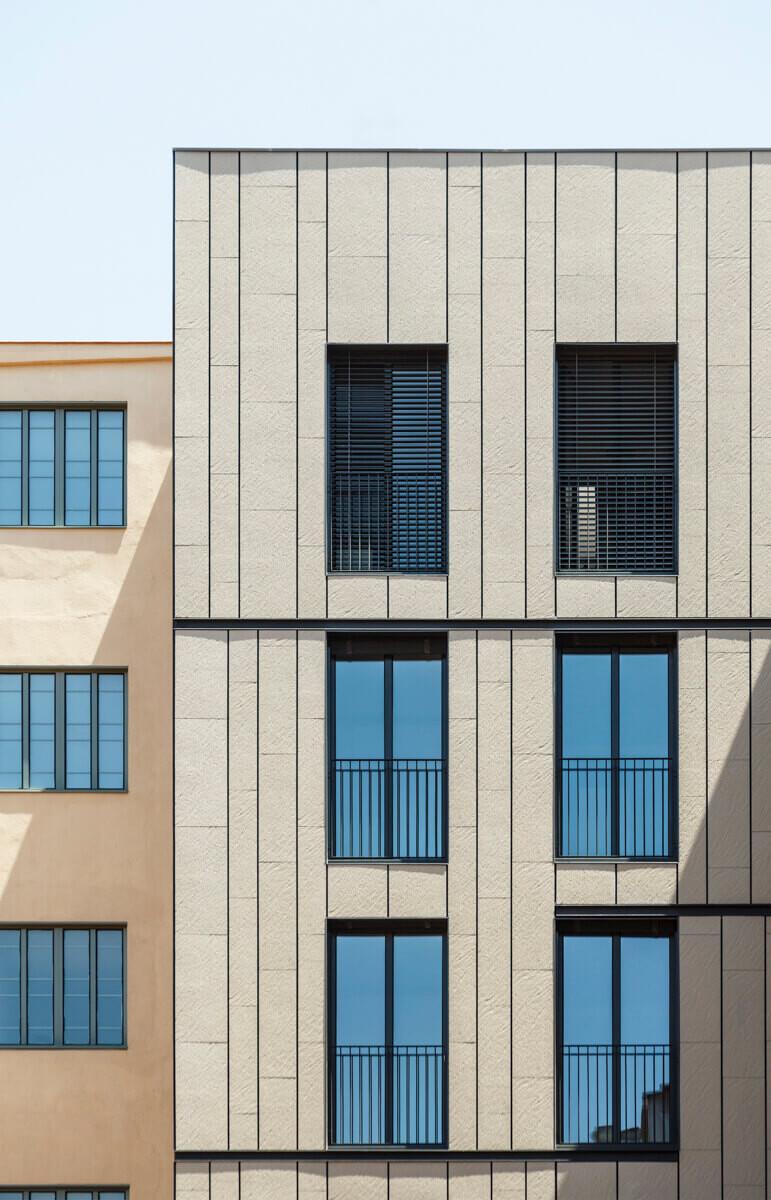 Residential project in Viladomat, Barcelona