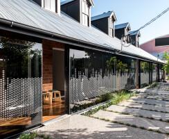 New structural glazed verandah