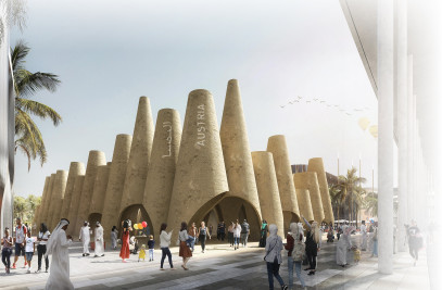 EXPO-­Pavilion in Dubai 2020