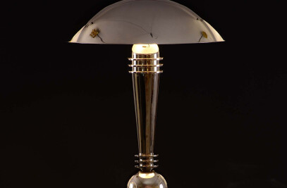 Art Deco Table Lamp Hetti by Woka Lamps Vienna